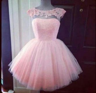 dress pink dress prom dress lace dress
