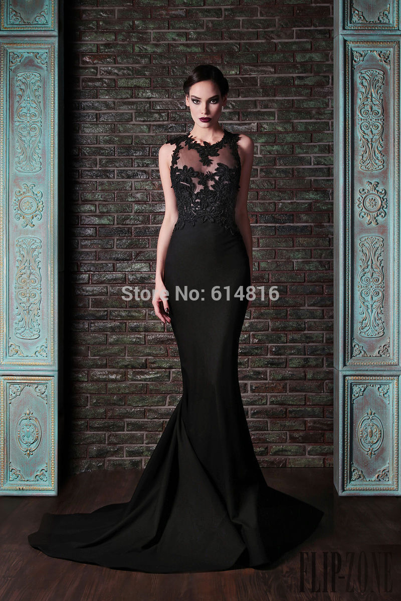 Aliexpress.com : Buy Glamorous Off Shoulder Cap Sleeve Black Lace Mermaid Long Pageant Prom Dresses Sexy V neck Crystals Beaded Vestidos 81983P from Reliable beaded duster suppliers on Suzhou Babyonlinedress Co.,Ltd