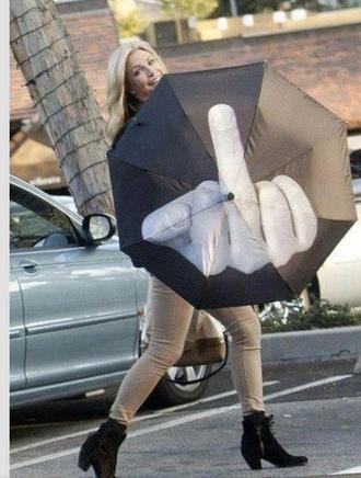 hat umbrella funny