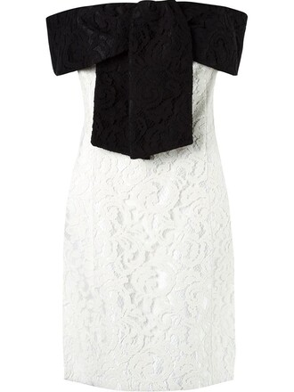 dress lace dress off the shoulder lace black