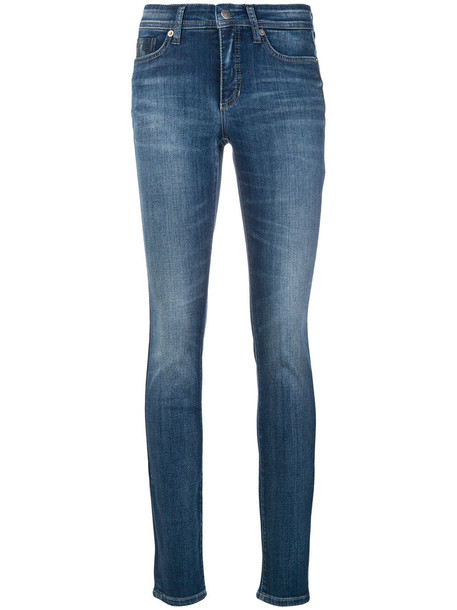 Cambio jeans women spandex cotton blue