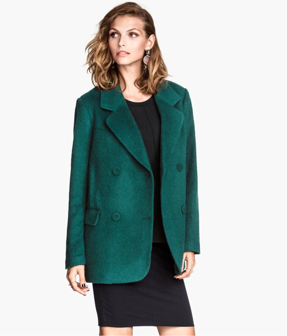 H&M Wool-blend Coat $79.95