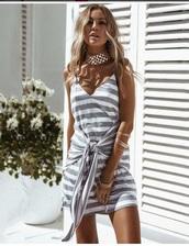 dress,girly,girl,girly wishlist,grey,white,cute,cute dress