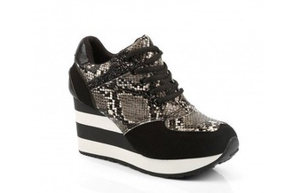 shoes stripes leopard print leopard print shoes black white basket baskets rayures compensees