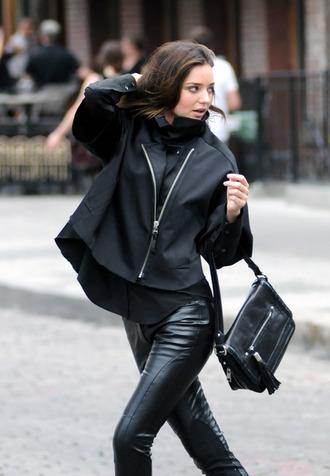 jacket miranda kerr rain coat coat