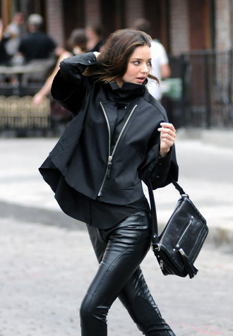 jacket miranda kerr raincoat coat