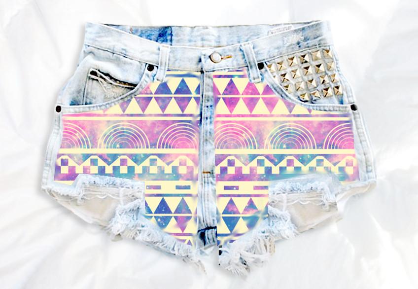 Damsel Pure | High Rise Denim Shorts