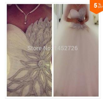 romantic wedding dress ballgown wedding dress
