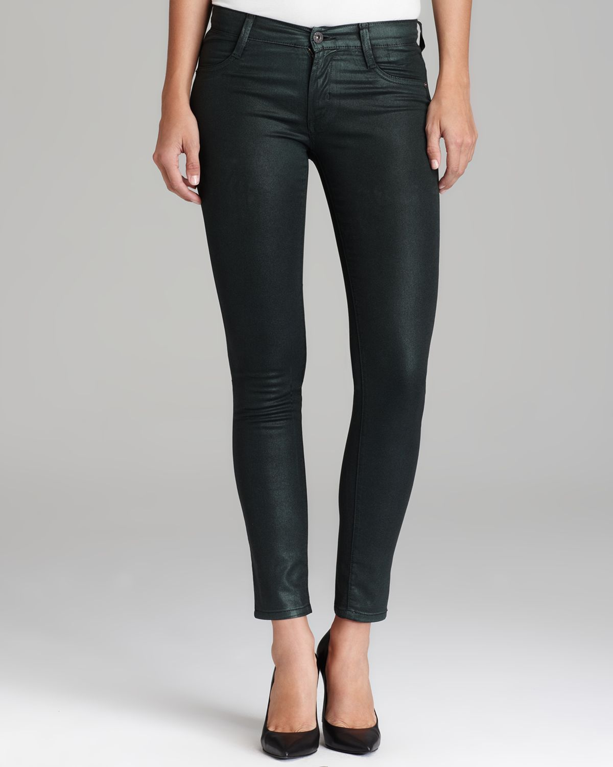 James Jeans - Twiggy Coated in Black Emerald | Bloomingdale's