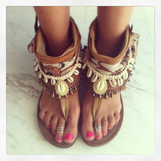 Shoes Boho Sandals Wheretoget