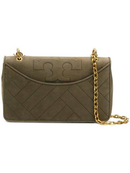 Tory Burch women bag shoulder bag suede green