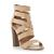 STEVE MADDEN CORIZON SM - High Vamp Espadrille Wedge Sandal - natural | Dune Shoes Online