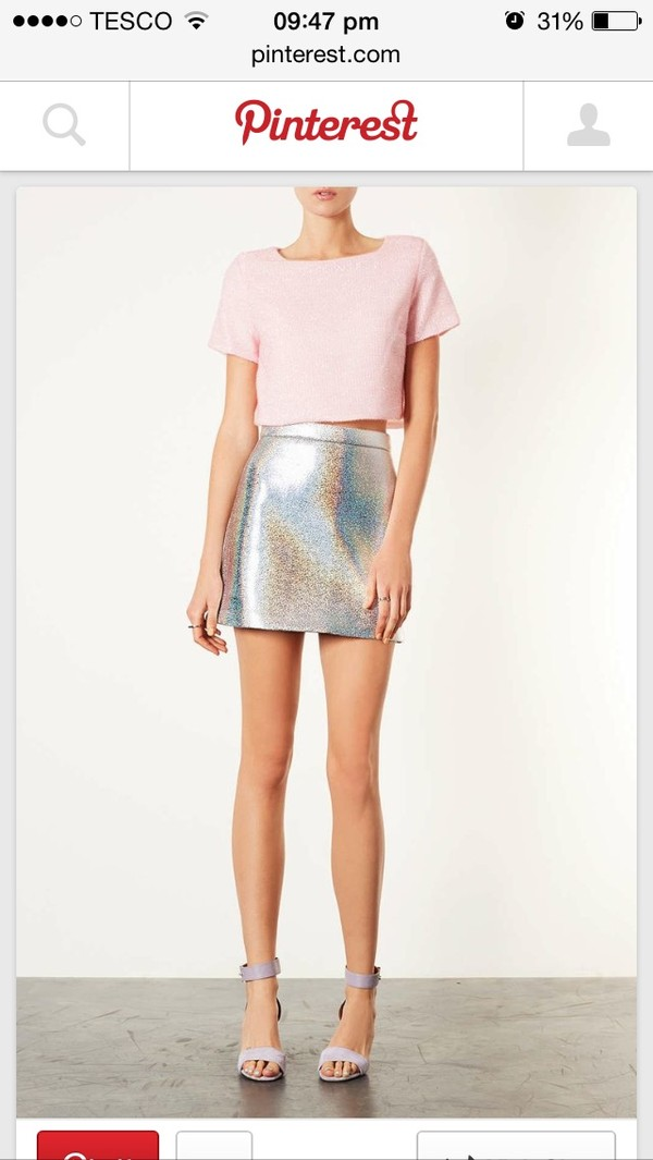 skirt holographic where did u get that