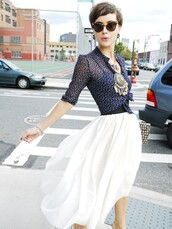 glamourai,skirt,blouse