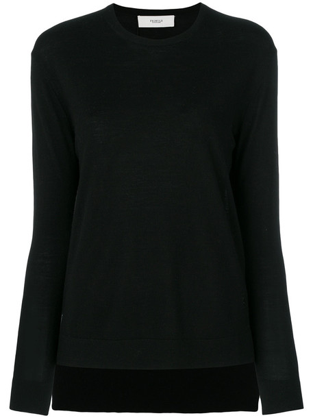 PRINGLE OF SCOTLAND sweater women classic black