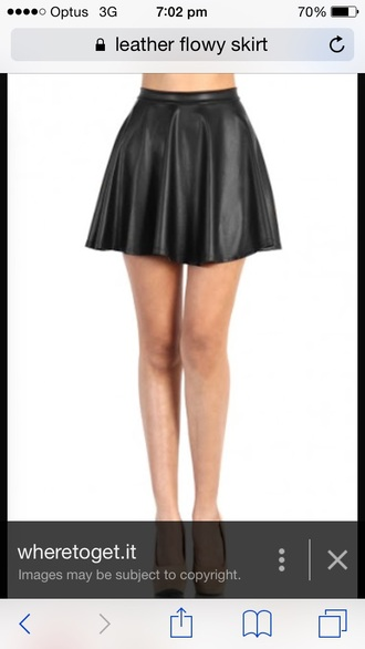 look up up leather flowy skirt and thengoto this imageand