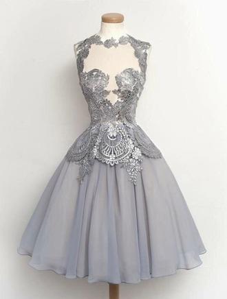 dress grey dress beautiful young girls dresses