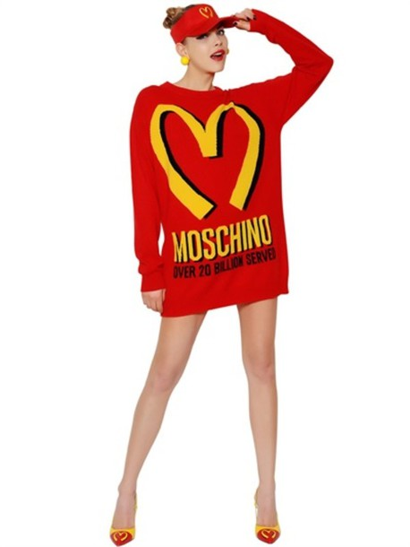 dress moschino special edition fw14 moschino knitted dress knitted dress