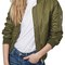 Topshop 'ma1 bruce' quilted bomber jacket | nordstrom