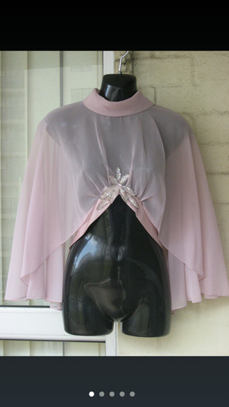 blouse sheer nuetral sexy nude lingerie diamonds jewels bra undies