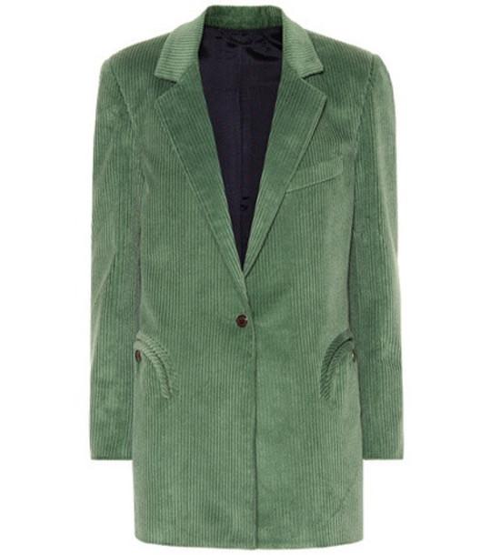 Blazé Milano Timeless corduroy blazer in green