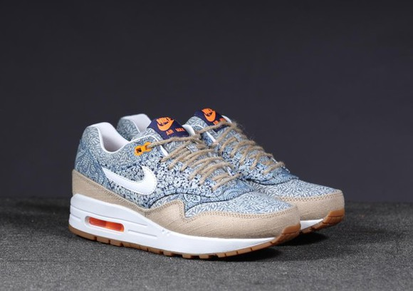 shoes liberty air max blueprint beige sneakers