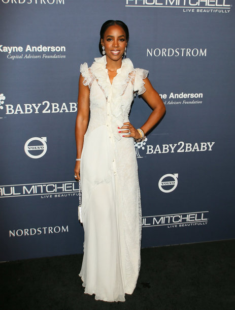 dress gown white dress white kelly rowland lace dress