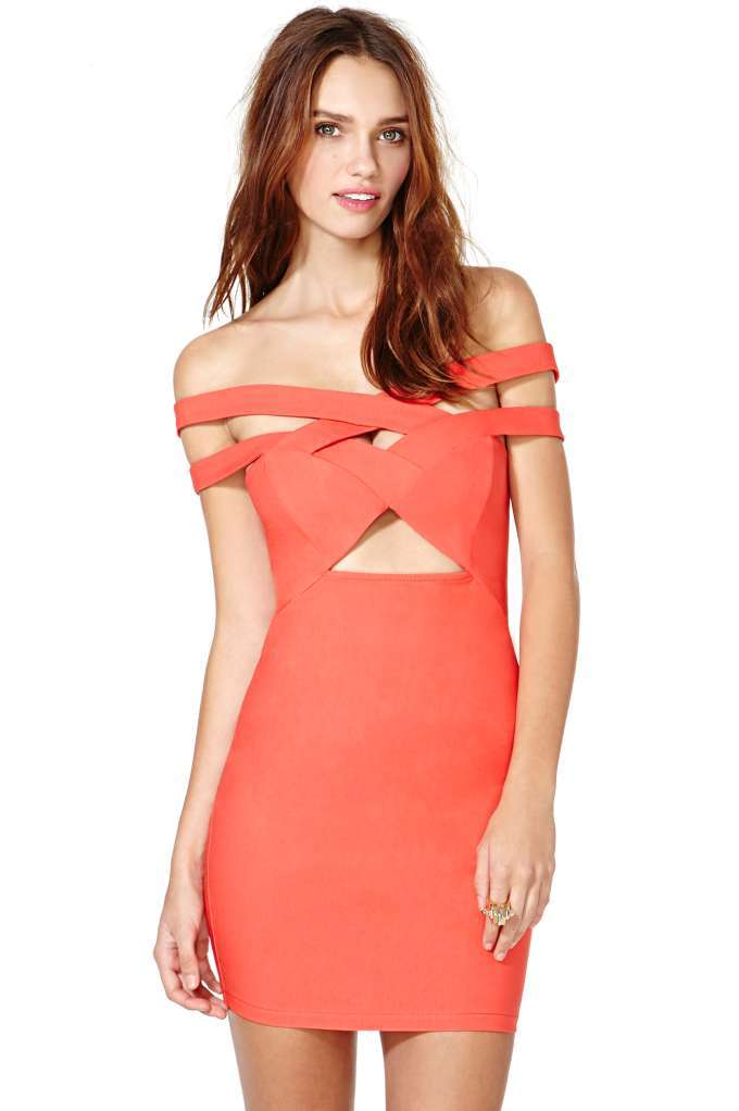 Nasty gal hold me tight dress