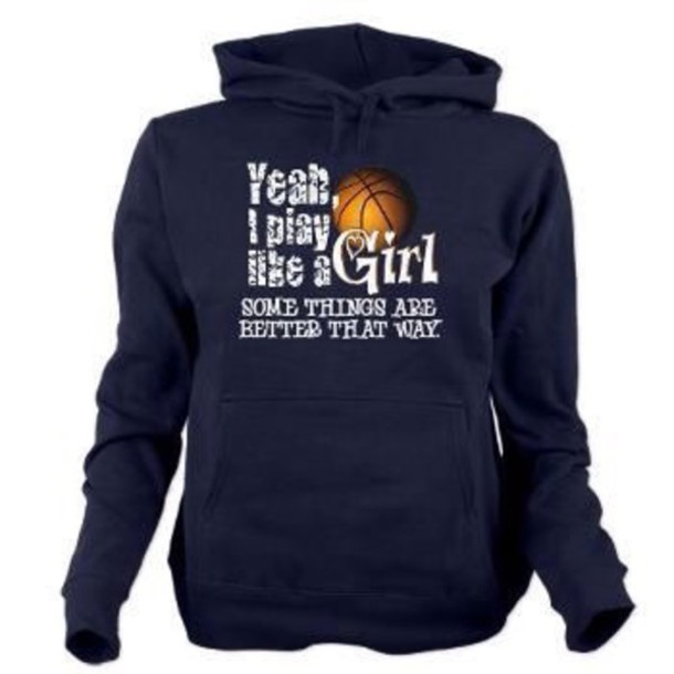sweater navy basketball sweatshirt