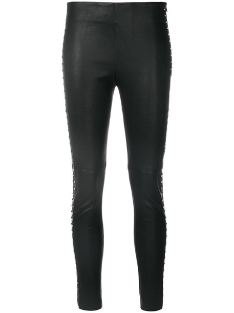 Iro women spandex cotton black pants