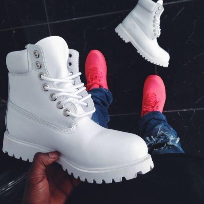 Shoes boots white timbs timberland white timbs timberlands jpg