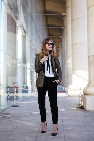 my daily style blogger pants jacket