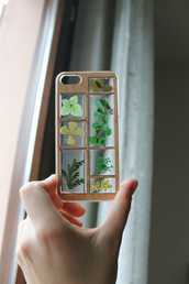 phone cover,iphone,iphone 4 case,iphone cover,plant¨,plants,herbs,clear,nature,iphone case,wood,flowers,natural,iphone 5 case,plnats,floral phone case,see through,Accessory,floral,leaves,wooden