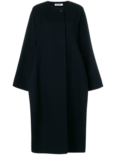Jil Sander coat women black