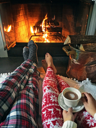 pajamas tumblr holiday season christmas holidays coffee socks christmas pajamas