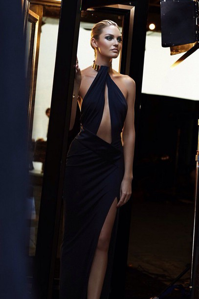 dress black dress long maxi dress elegant glamour black black prom dress candice swanepoel perfection fashion elegance