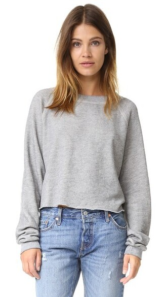 sweatshirt crop sweatshirt sweater