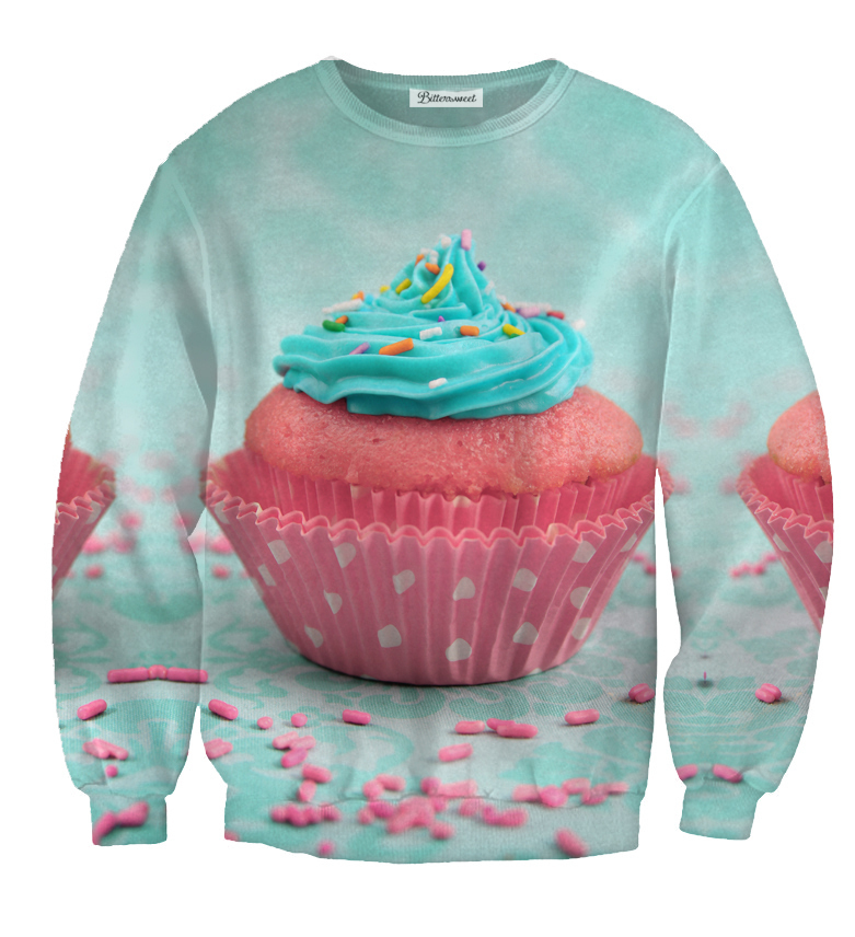Cupcake Sprinkled Sweater