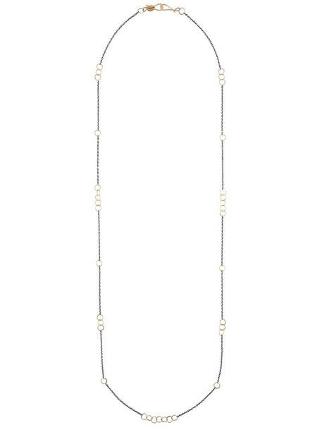 Melissa Joy Manning women necklace gold silver grey jewels
