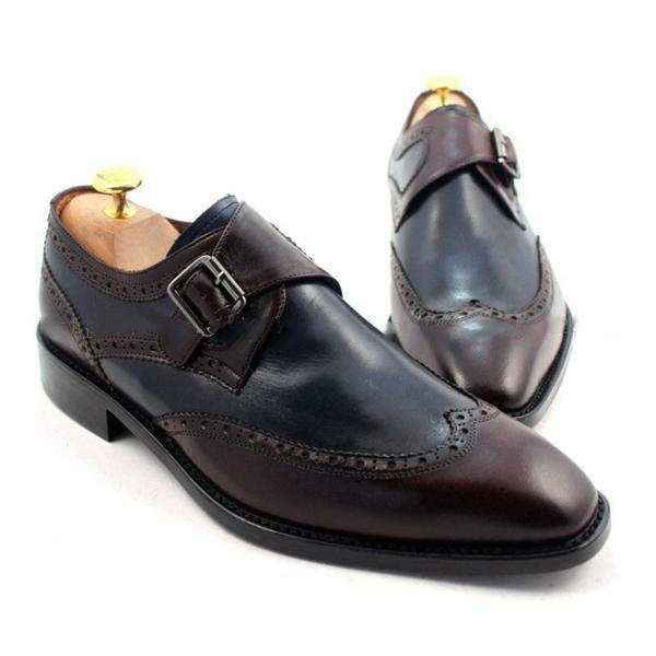Shoes - Wise Navy Brown