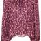 Ulla johnson - floral boho blouse - women - silk/cotton - 6, red, silk/cotton