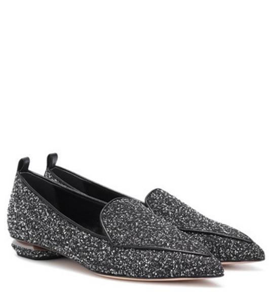 Nicholas Kirkwood Beya loafers in grey