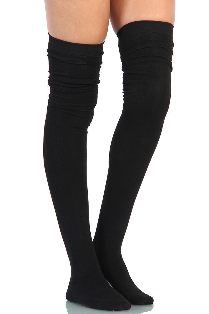 thigh high socks porn