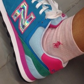 new balance,sneakers,trainers,pink trainers,pink sneakers,cyber,cyber punk,holographic,cyber ghetto,cyberpunk
