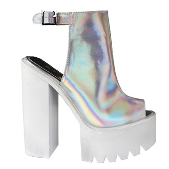 shoes cleat platforms platform heels platform boots metallic heels cleated sole platform high heels metallic shoes high heels lug sole blush pink