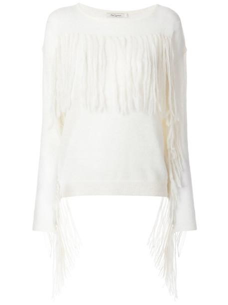 MES DEMOISELLES jumper women white sweater