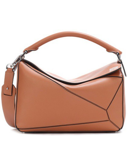 LOEWE bag leather bag leather brown
