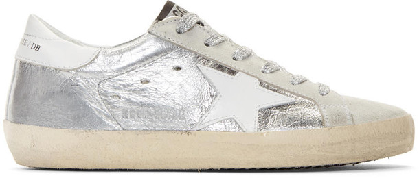 metallic sneakers silver shoes