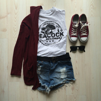 peacock tanktop top white