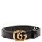 Gg-logo 2cm leather belt   gucci   matchesfashion.com us